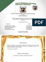 Diapositiva Sobre El Informe de Investigacion