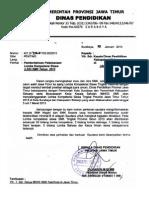 Surat Edaran Lks Prov Jatim 2013