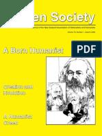 Humanism) a Born Humanist