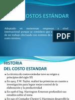 Diapositivas Costo Estandar Oficiales