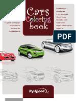 Car Coloring Books