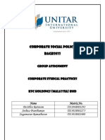 Corporate Social Policy