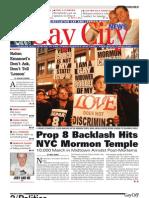 November 13 Gay City News
