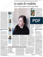 Intervista a Louise Erdrich, vincitrice del «National Book Award» - Corriere della Sera 27.07.2013