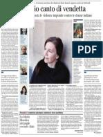 Intervista a Louise Erdrich, vincitrice del «National Book Award» - Corriere della Sera 27.07.2013