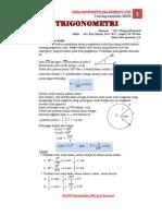 Modul Matematika Trigonometri[1]