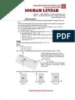 Modul Matematika Program Linear[1]