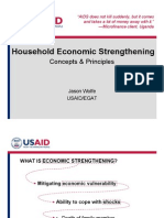 Household Economic Strengthening