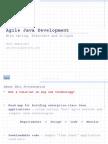 Agile Java Dev With Spring Hibernate Eclipse