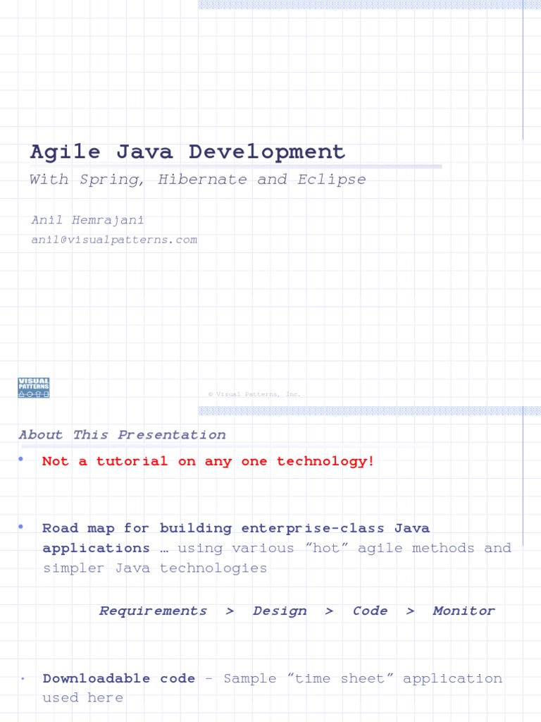 Java role in the development of the internet of things codespring - Agile Java Dev With Spring Hibernate Eclipse Agile Software Development Eclipse Software