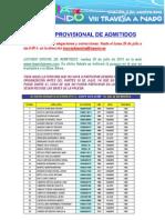 LISTADO PROVISIONAL DE ADMITIDOS GANDO 2013 (1).pdf