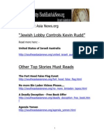 """""""Jewish Lobby Controls Kevin Rudd"""""""