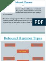 Rebound Hammer Types