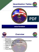 2008 Prst, JPEG Quantization Tables - p21-Kornblum_pres