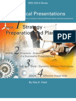 Technical Presentations Book 1 Strategy Preparation and Planning