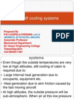 Aircraft Cooling Systems