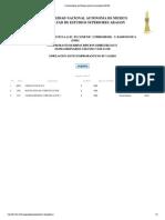Comprobante de Reinscripción al semestre 20132