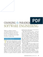Changing the Paradigm of Software Engineering