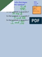 SolveFirstDegreeTrigEquations-T