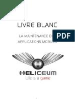 Livre blanc Heliceum - La maintenance des applications mobiles