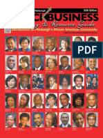 2013 Pittsburgh Black Business Directory
