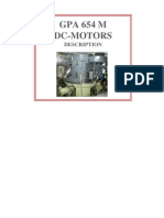 DC-Motor Description & Maintenance