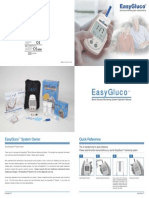 EasyGluco MeterManual(Rev.01)(101022)