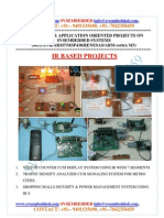 Latest_ Innovative_svsembedded_ir_ Based Projects List- 2013