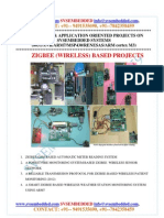 Latest Innovative Svsembedded Zigbee Wireless Based Projects List- 2013