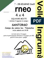 Volantino Senior 2009