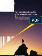 Key Considerations for Your Internal Audit Plan AU1607