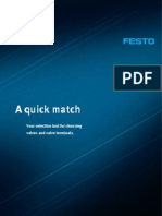 A Quick Match of festo