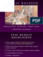 2010-Proposed Budget Presentation
