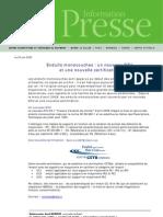 Dossier de Presse Enduits Monocouches