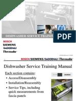 DishwasherTraining Bosch 2004