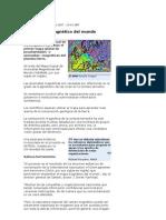 MAPAS GEOMAGNETICOS