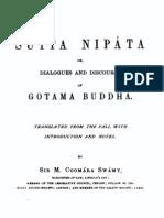 CooMara SwaMy Sutta Nipata