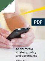 Social Media Strategy Policy Governance