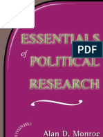 Essentials of Political Research - Monroe - 2000