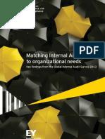 Matching Internal Audit Talent to Organizational Needs