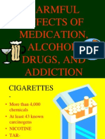 Harmful Effects of Medication Alcohol Drugs