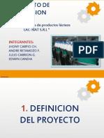 Exposicion de Proyectos de Inversion