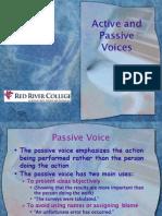 Active Passive Voices
