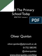 ICT & the Primary School Today 2011