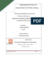 MRF organisation study report
