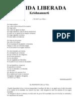 1928-Krishnamurti - Vida Liberada