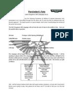 Porcindon's Fate 2013 Campaign Brief