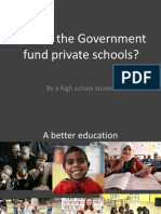 Should the Government Fund Private Schools