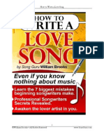 How to Write a Love Song