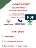 Enfoque Por Procesos (2009)